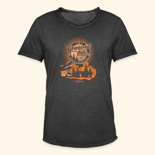 Wuppertal Genau mein Fall T Shirt Design - Männer Vintage T-Shirt