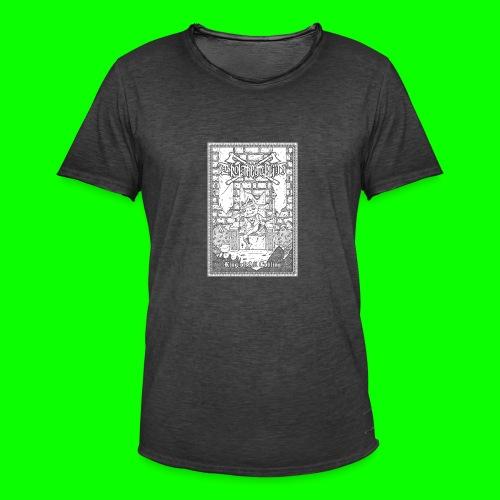 king of all goblins white on black - Men's Vintage T-Shirt