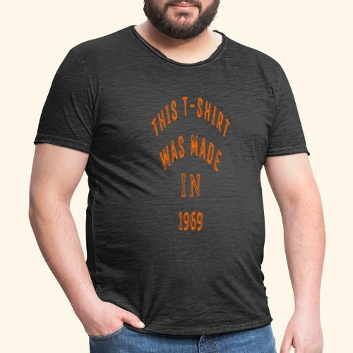 fabriqué en 1969 - T-shirt vintage Homme