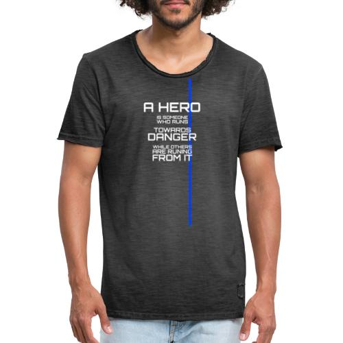 A Hero Tribute - T-shirt vintage Homme