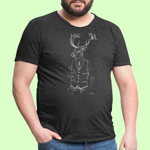 DEER STYLE!! - Camiseta vintage hombre