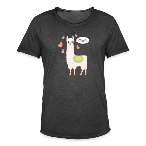 alpaka hoodie - Männer Vintage T-Shirt