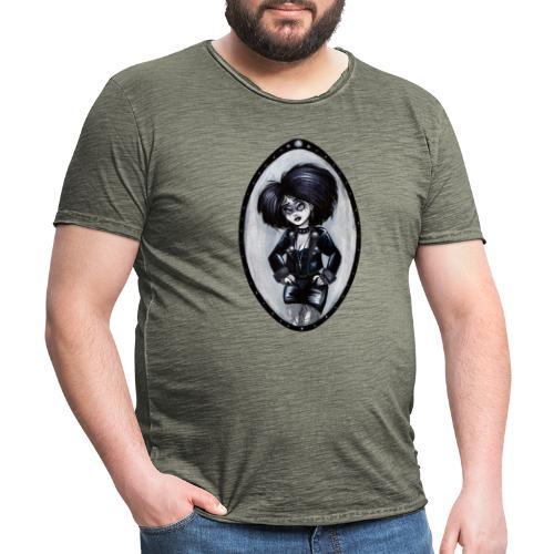Trad Goth Art by E. R. Whittingham - Men's Vintage T-Shirt