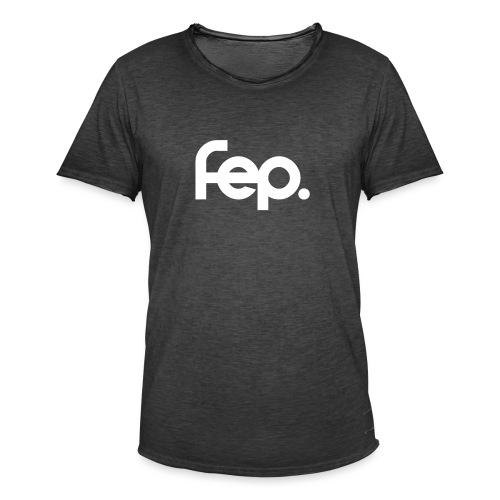 FEP logo with - Men's Vintage T-Shirt