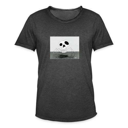 skull spider - Vintage-T-shirt herr