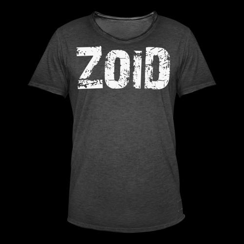 ZOID ONLY - Männer Vintage T-Shirt