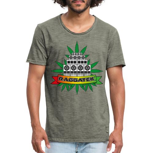 Raggatek Sound System - Men's Vintage T-Shirt