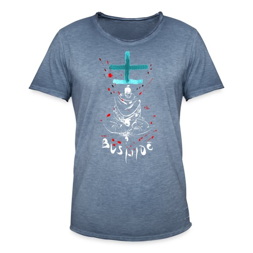 Bushido - Der Weg des Kriegers - Men's Vintage T-Shirt