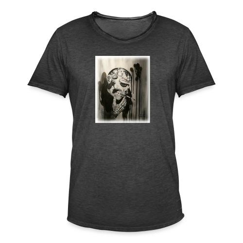 Skull illustration 1 - Vintage-T-shirt herr