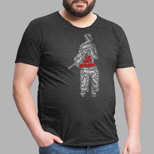 The Night Watchman - Men's Vintage T-Shirt