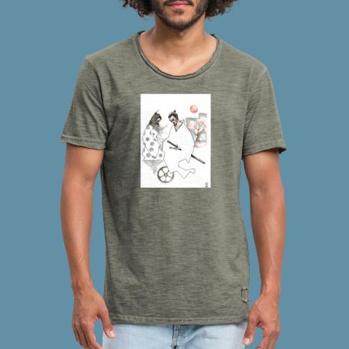 Samurai copia jpg - Maglietta vintage da uomo