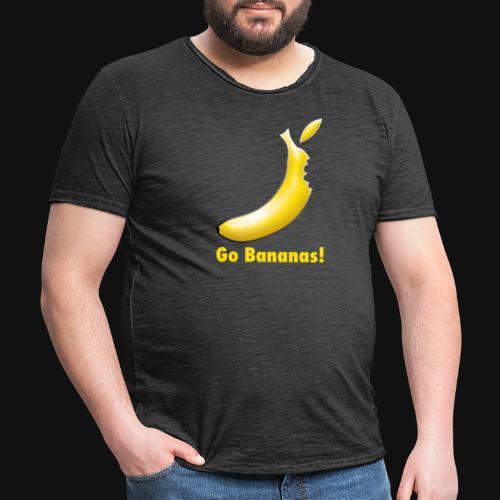 Go Bananas! - Männer Vintage T-Shirt
