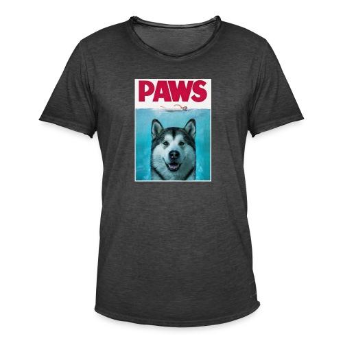 paws 2 - Men's Vintage T-Shirt
