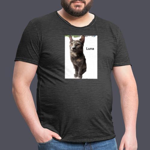 Luna The Kitten - Men's Vintage T-Shirt