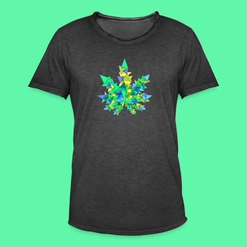 Mary Jane blue - Herre vintage T-shirt