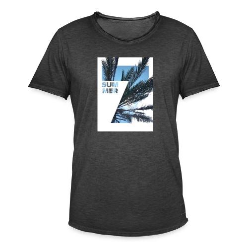 Summertime - Mannen Vintage T-shirt