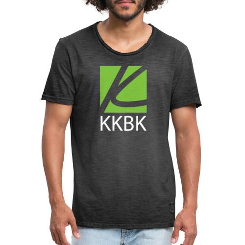 KKBK Logo - Männer Vintage T-Shirt