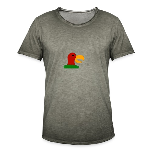 Parrots head - Men's Vintage T-Shirt