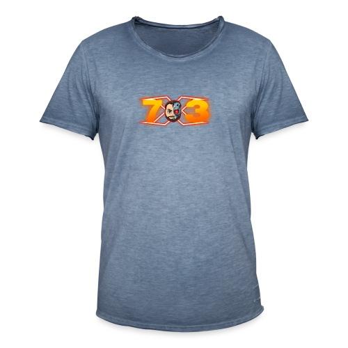 FranX73 logo NEW - Camiseta vintage hombre
