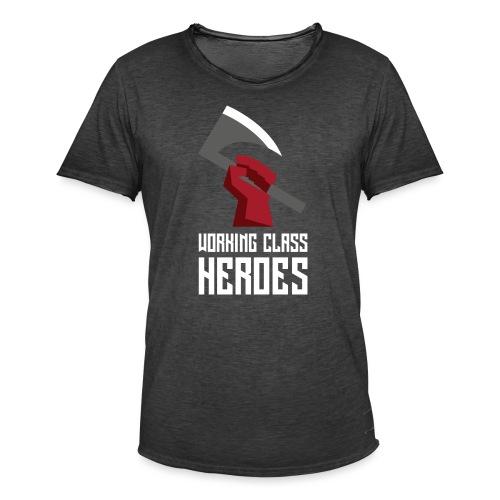WORKING CLASS HEROES - Men's Vintage T-Shirt