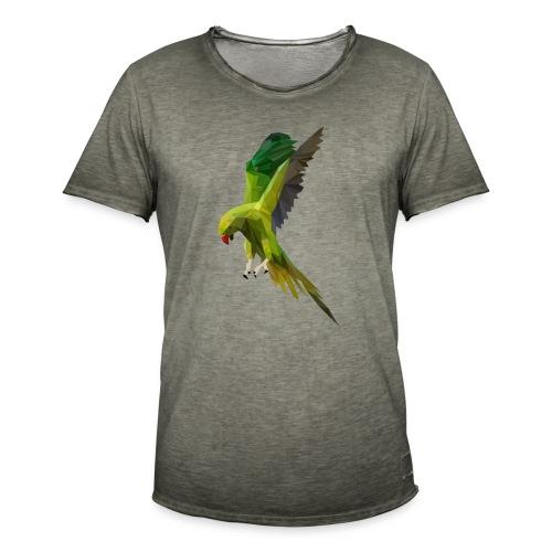 PERROQUET - MINIMALISTE - T-shirt vintage Homme