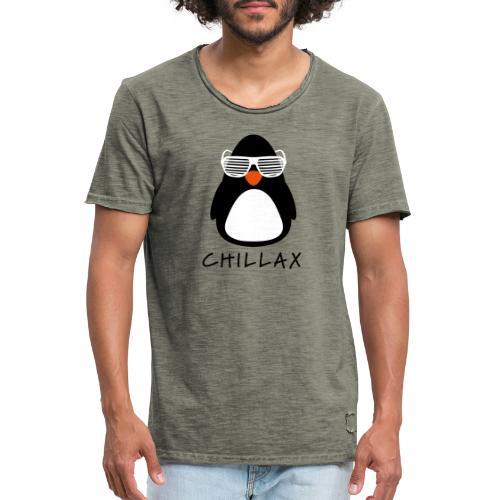 Chillax - Mannen Vintage T-shirt
