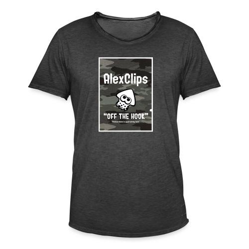 AlexClips Off the Hook - Maglietta vintage da uomo