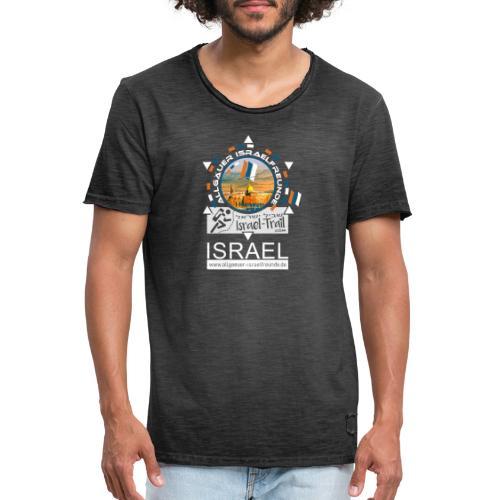 Allgäuer Israelfreunde Outdoor Israel-white - Männer Vintage T-Shirt