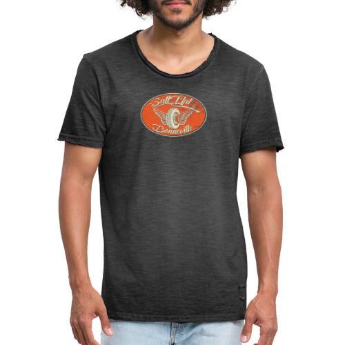 Salt Flat Racing Bonneville - Männer Vintage T-Shirt