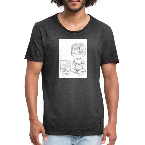 sorbusxd youtuber - Männer Vintage T-Shirt