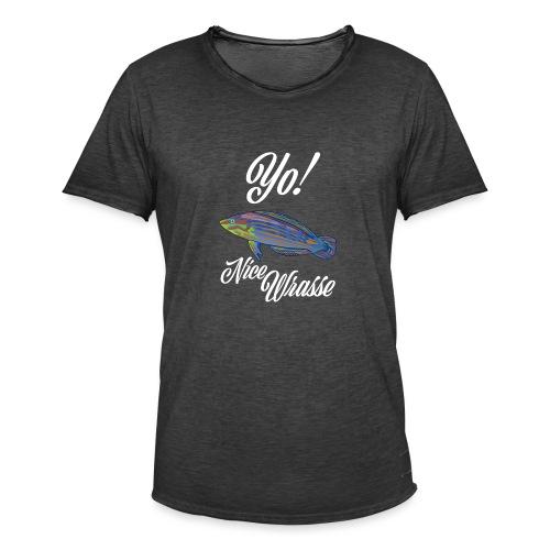 Yo Nice Wrasse - Men's Vintage T-Shirt