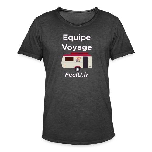 Votre équipe pour le voyage - T-shirt vintage Homme