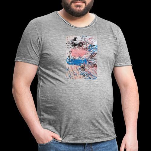 Emelie Kunstwerk V. - Männer Vintage T-Shirt