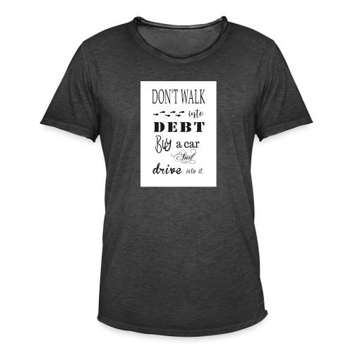 Funny Quote - Men's Vintage T-Shirt