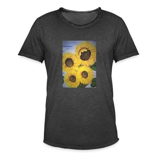 SonnenblumeIMG 20180815 090758 - Männer Vintage T-Shirt