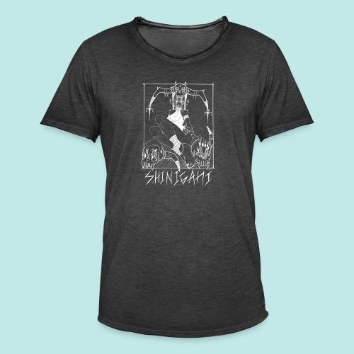 Femme elfe crâne mort dark rock Blanc - T-shirt vintage Homme