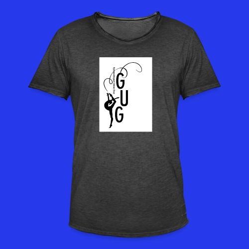 GUG logo - Männer Vintage T-Shirt