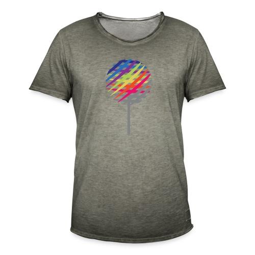 Rainbow Tree - Koszulka męska vintage