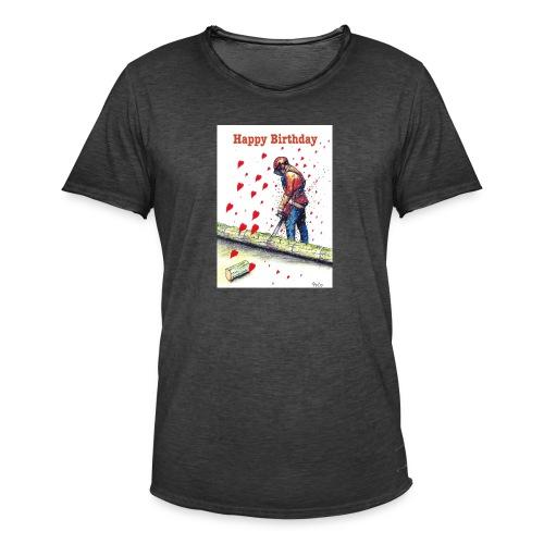 Arborist Tree Surgeon Chainsaw - Men's Vintage T-Shirt