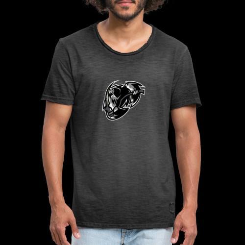 tsrschwarz weis - Männer Vintage T-Shirt
