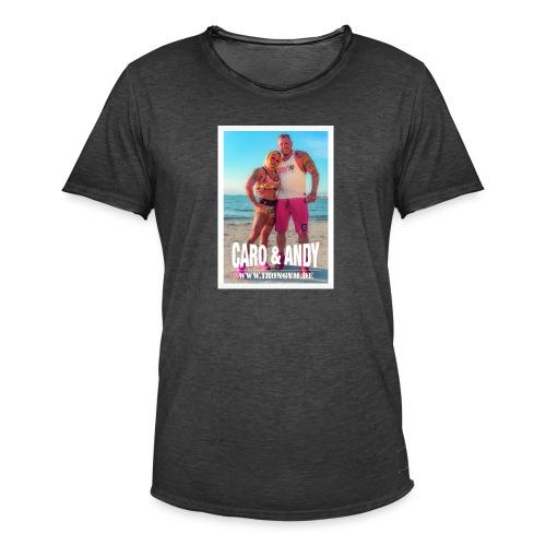 caro andy 01 - Camiseta vintage hombre