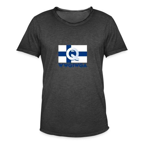 Suomi WWG1WGA - Miesten vintage t-paita