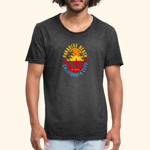 Sunshine Paradise - Männer Vintage T-Shirt