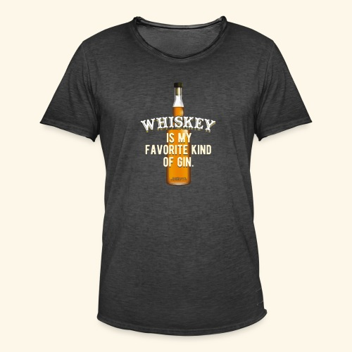 Whiskey Sprüche Für Clevere Leute - Männer Vintage T-Shirt
