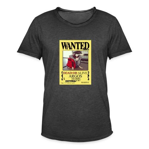 #dóndeestáargos ARGOS ver.wanted - Camiseta vintage hombre