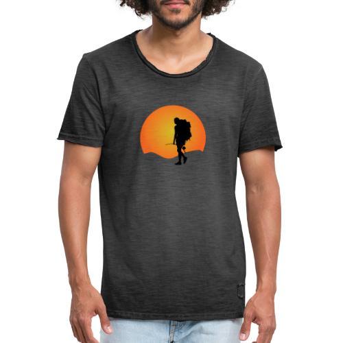 Capoeira me venceu - Men's Vintage T-Shirt