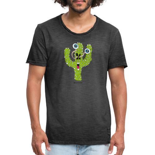 Mystified Cactus - Mannen Vintage T-shirt