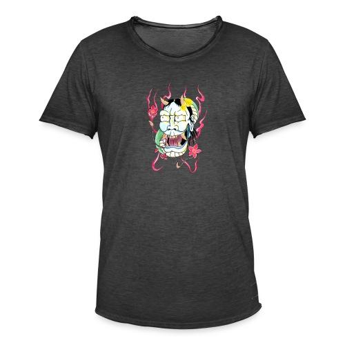 hannya mask - Men's Vintage T-Shirt