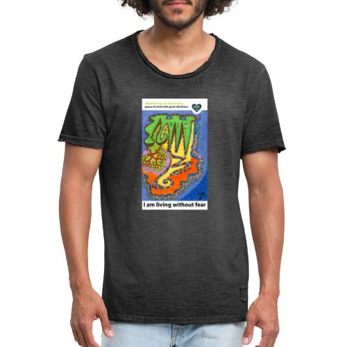 Threat - Camiseta vintage hombre