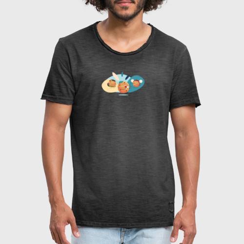 Axeptio - T-shirt vintage Homme